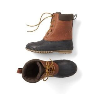 Gap boys duck boots size 1-2 little kid